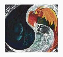 Dumbledore Snape YIN-YANG by juliabohemian
