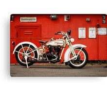 Harley-Davidson JD 1927 Canvas Print