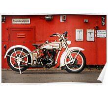 Harley-Davidson JD 1927 Poster