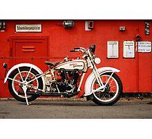 Harley-Davidson JD 1927 Photographic Print