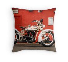 Harley-Davidson JD 1927 Throw Pillow