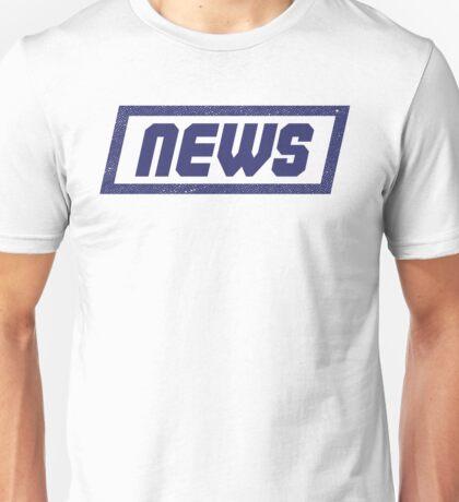 News Blue - Fontline Unisex T-Shirt