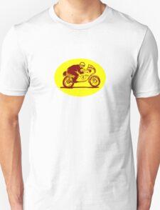 Suzuki Motorcycle Rider as Logo Unisex T-Shirt