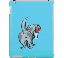 Dog licking case iPad Case/Skin