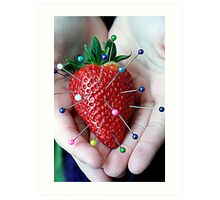 Sweet Strawberry Voodoo Art Print