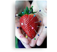 Sweet Strawberry Voodoo Canvas Print