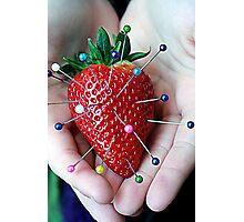 Sweet Strawberry Voodoo Photographic Print