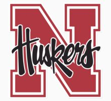 "College University ""Nebraska Cornhuskers"" Sports Baseball Basketball Football Hockey by artkrannie"