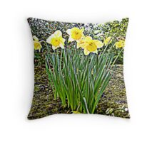 Spring of nature... Throw Pillow