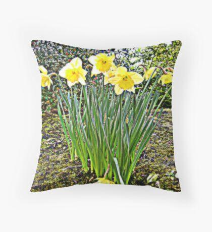 Spring of nature... Throw Pillow
