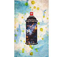 Spray Paint Photographic Print