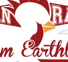Angry Chicken Sticker