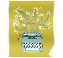 the Typing Tree Poster