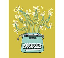 the Typing Tree Photographic Print