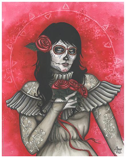 Chelle of the Dead - dia de los muertos by ConnieFaye