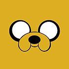 Jake the Dog Face by noellelucia713