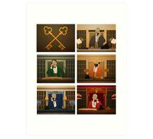 Society of the Crossed Keys Art Print