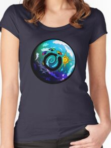 Solar Return Women's Fitted Scoop T-Shirt