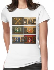 Society of the Crossed Keys Womens Fitted T-Shirt