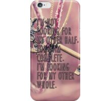 Other Whole Quote iPhone Case/Skin
