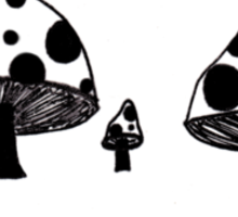 Mush mush yay  Sticker
