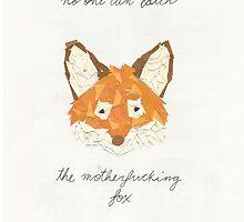 motherfucking fox by Ed-Ingle
