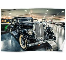 1933 Club Brougham Poster