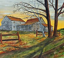 Drafty Old House by Jack G Brauer
