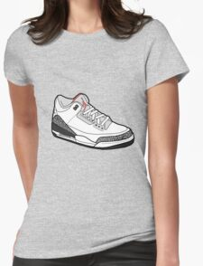 Jordan 3 Womens Fitted T-Shirt