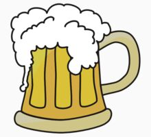 Mug of Beer Sticker by CooliPhones