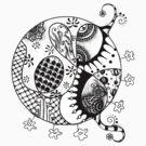 Henna Bird Bubble by motherhenna