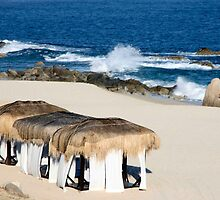 Seaside Cabanas by phil decocco
