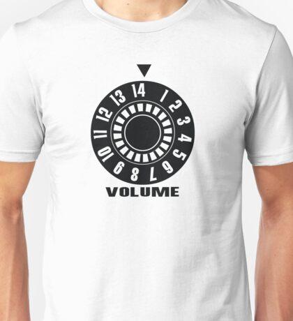 Turn up the volume Unisex T-Shirt