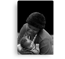 Mother & Babe Canvas Print