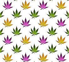 Marijuana Leaves Pattern by cnstudio