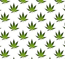 Marijuana Leaves Pattern II by cnstudio