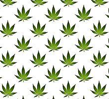 Marijuana Leaves Pattern II by cnstudio