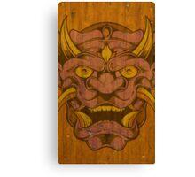 Wood Demon Canvas Print