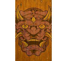 Wood Demon Photographic Print