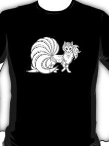 Ninetails de los Muertos | Pokemon & Day of The Dead Mashup T-Shirt