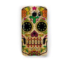 Wood Sugar Skull Samsung Galaxy Case/Skin