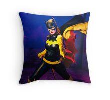 Beware the Bat Throw Pillow