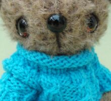 Handmade bears from Teddy Bear Orphans - Roger Sticker