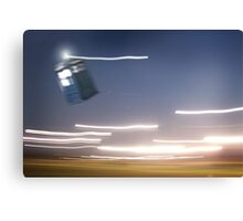 TARDIS Sighting Canvas Print