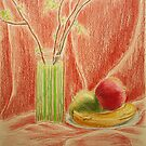 Red still life by Solotry
