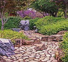 Stone Garden at Canberra-Nara Peace Park by TonyCrehan