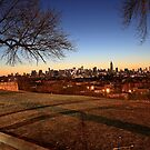 Manhattan From Jersey City by pmarella