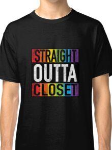 Straight Outta Closet LGBT Classic T-Shirt