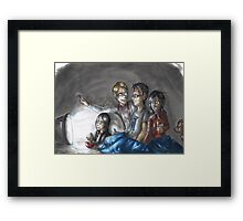 Hannibal - Watching Doctor Who Framed Print