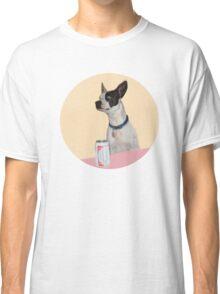 A dog walks into a Bar Classic T-Shirt
